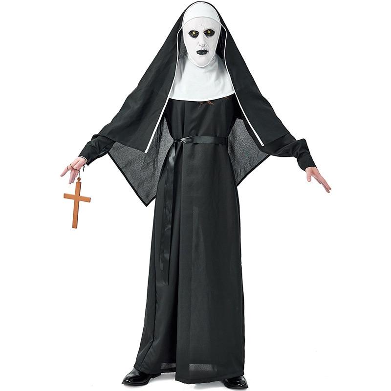 Karnival Halloween Demon Nun Costume