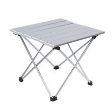 طاولة تخييم محمولة سبائك الألومنيوم طاولة قابلة للطي طاولة نزهة خفيفة