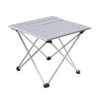 Taşınabilir kamp masası alüminyum alaşım katlanır masa piknik masa Ultralight|portable camping table|table picniccamping table -