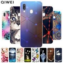 For Samsung Galaxy A40 Case 2019 NEW Fashion silicone Soft T