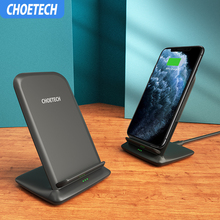 CHOETECH 15W QI Wireless Charger for LG V30 V30+ V35 G8 Fast Iphone 11 Xs Max XR X 8 Samsung S10 S9 S8
