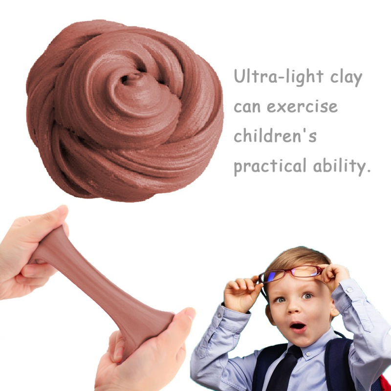Funny Colorful 15 Color Kids Boys Girls Toy Exercise Hands-on Ability Fluffy Foam Clay DIY Clay Ball High Quality Soft Color Mud