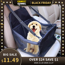 CAWAYI KENNELสุนัขรถพับเปลญวนสัตว์เลี้ยงผู้ให้บริการกระเป๋าสำหรับแมวสุนัขTransportin Perro Autostoel Hond