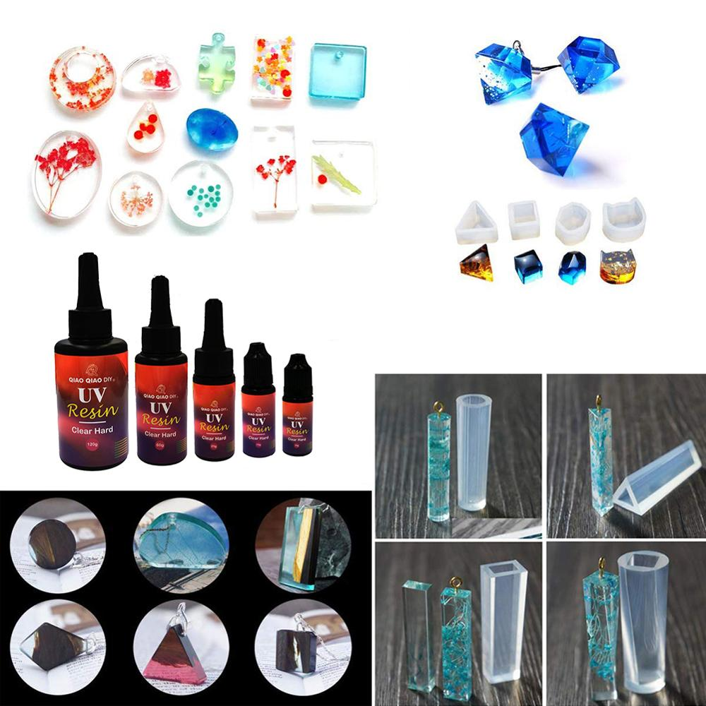10g UV Resin Curing Epoxy Hard UV Glue Sun Curing Resin DIY Jewelry Making Sunlight Activated Resin For Casting Coatings