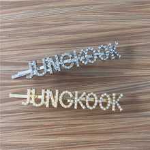 New Fashion Hair Pins JHOPE JUNG KOOK  Hairpin Jewelry Headband Bangtan Boys Accessories Gift