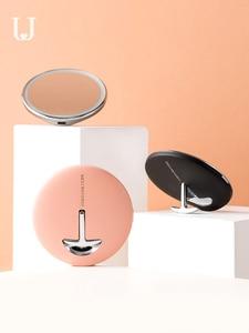 Image 3 - Youpin Hd Make Up Spiegel Met Led Kleur Blauw Licht Cosmetische Spiegel Mini Draagbare Touch Control Sensing Spiegel Voor Schoonheid Make Up
