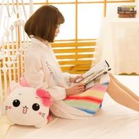 Creative Strawberry Papa Cat Plush Toy Doll Pillow Home Pillow Customizable
