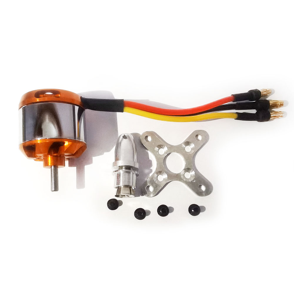 Maytech 2826 RC Small Helicopter Motor Outrunner Brushless DC Motor for Airplane Models FPV Plane RC Toys