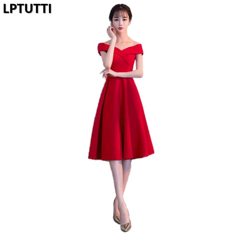 LPTUTTI New Woman Plus Size Social Festive Elegant Formal Prom Party Gowns Fancy Short Luxury Cocktail Dresses