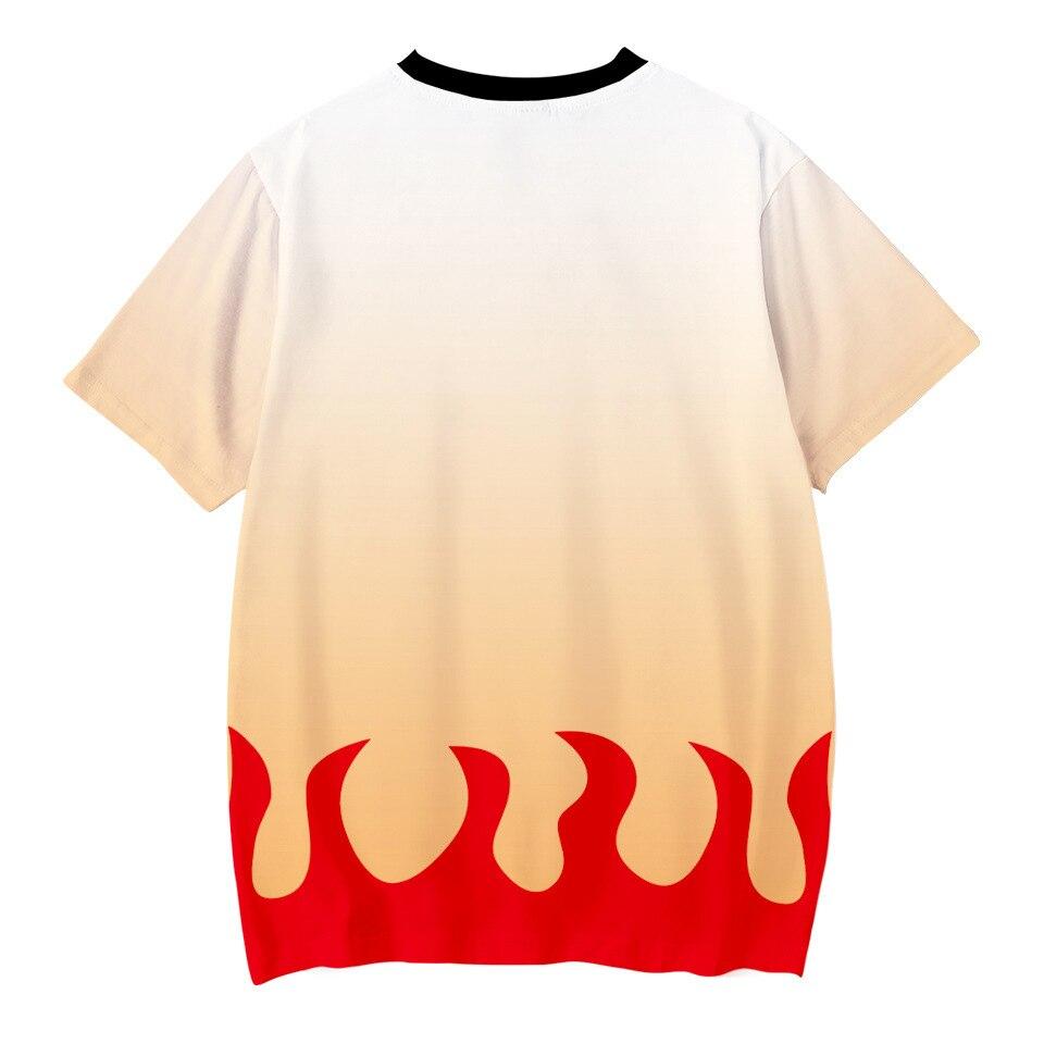 H0ae1f90bbc8643008ff99d85b6de04b85 Kids Boys Devils killer T-shirts 3d Print Cosplay Japanese Ghost blade Children Summer Short Sleeve Tshirts Demon Slayer Clothes