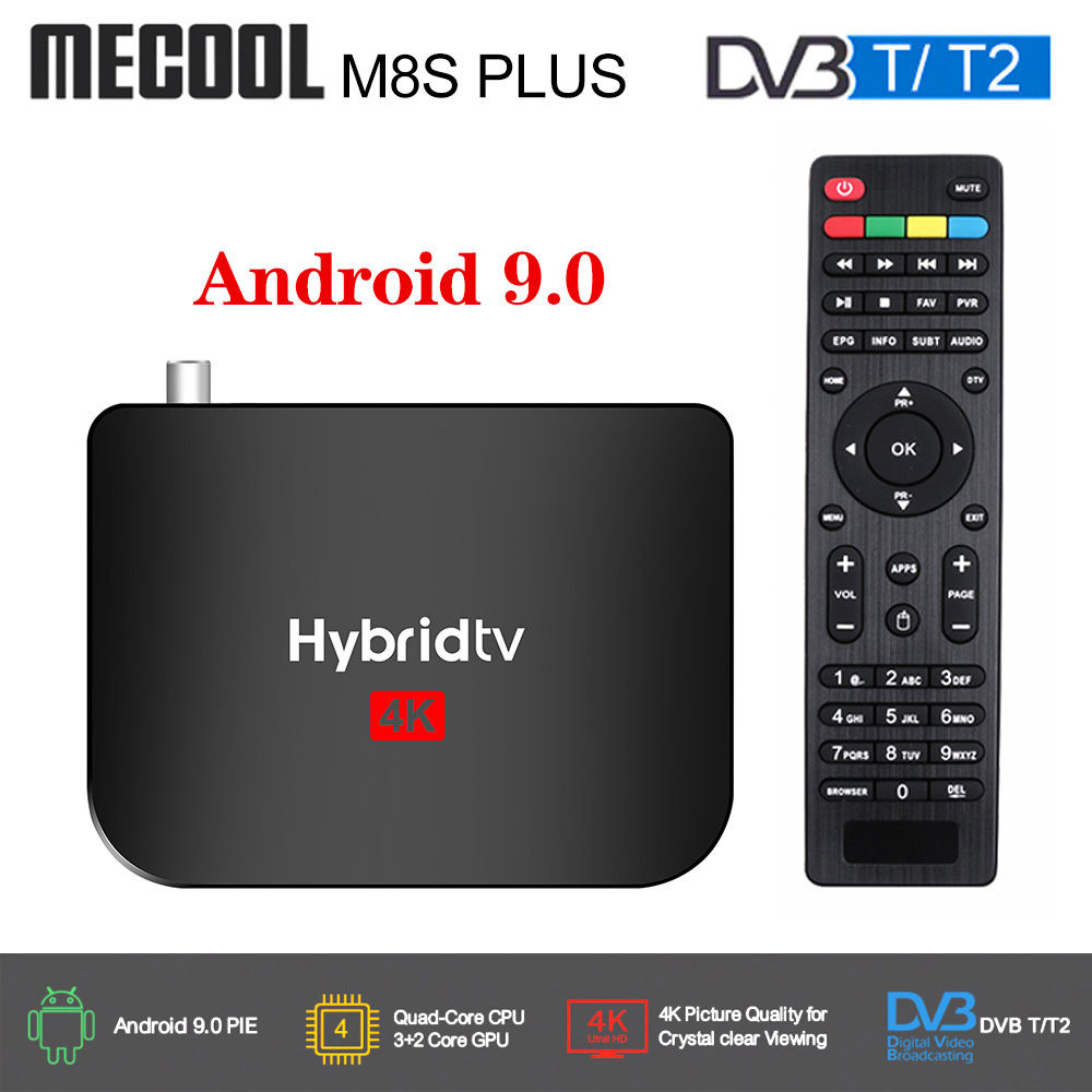 2020 Mecool M8S PLUS Android 9 DVB T2 Hybridtv TV Box Amlogic S905X2 2GB 16GB Support 4K M8S PLUS DVB T2 Terrestrial Combo Box|Set-top Boxes|   - AliExpress