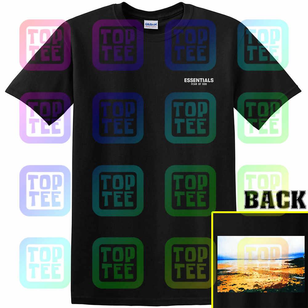 Nuevo Streetwear nuevo 19Fw Fear God Fog esencial Tee Boxy foto camiseta suelta Casual Camisa nueva moda hombres mujeres tamaño s-3Xl