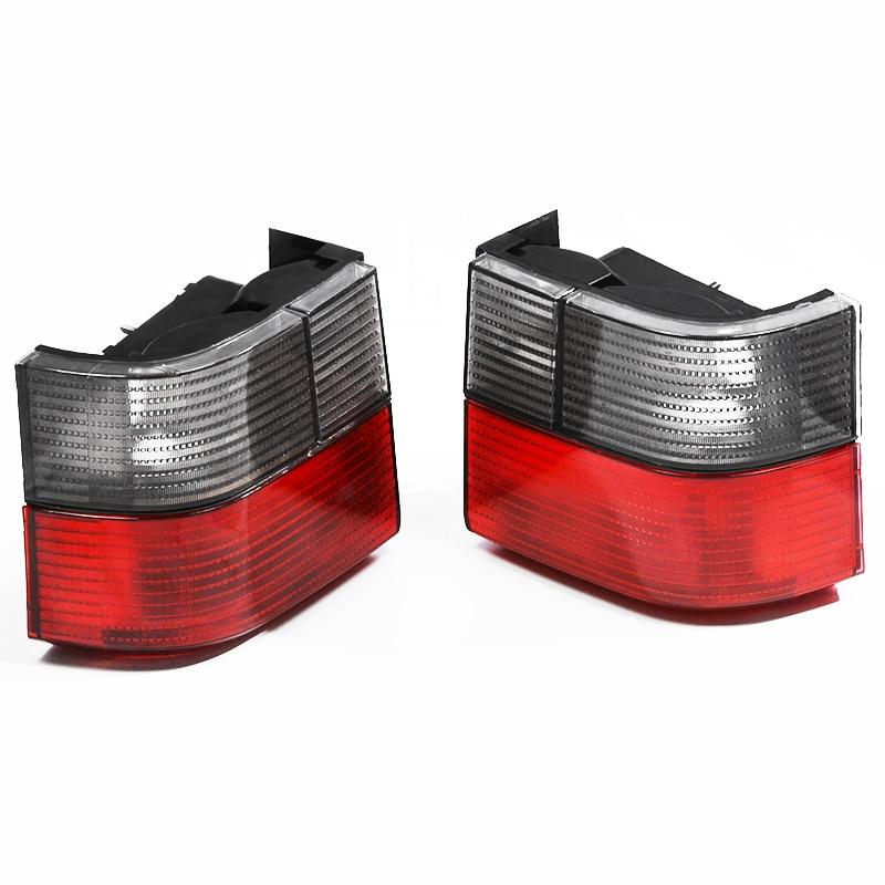 Rear Tail Fog Light Lamp Cover Light Lens Braking Signal Smoked Red Tail Light Lamps For VW Transporter Caravelle T4 1992-2004