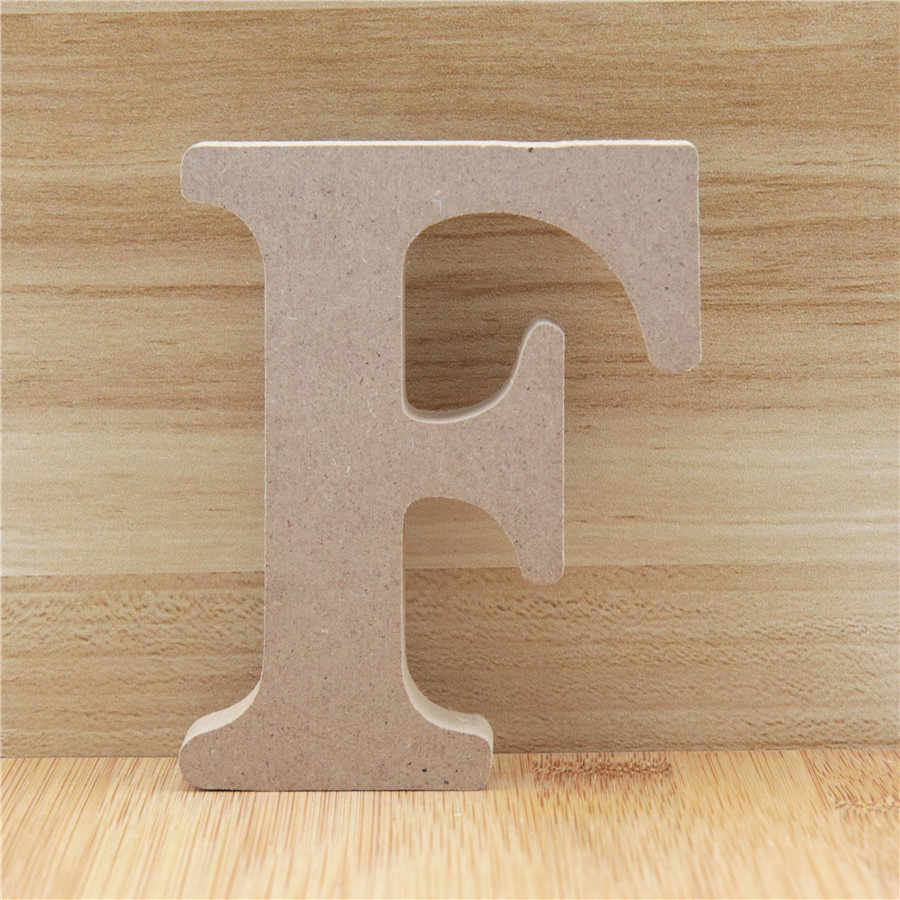 Birthday Craft Art Decoration Wooden Letters MDF Large 3-30cm High 3mm Thick