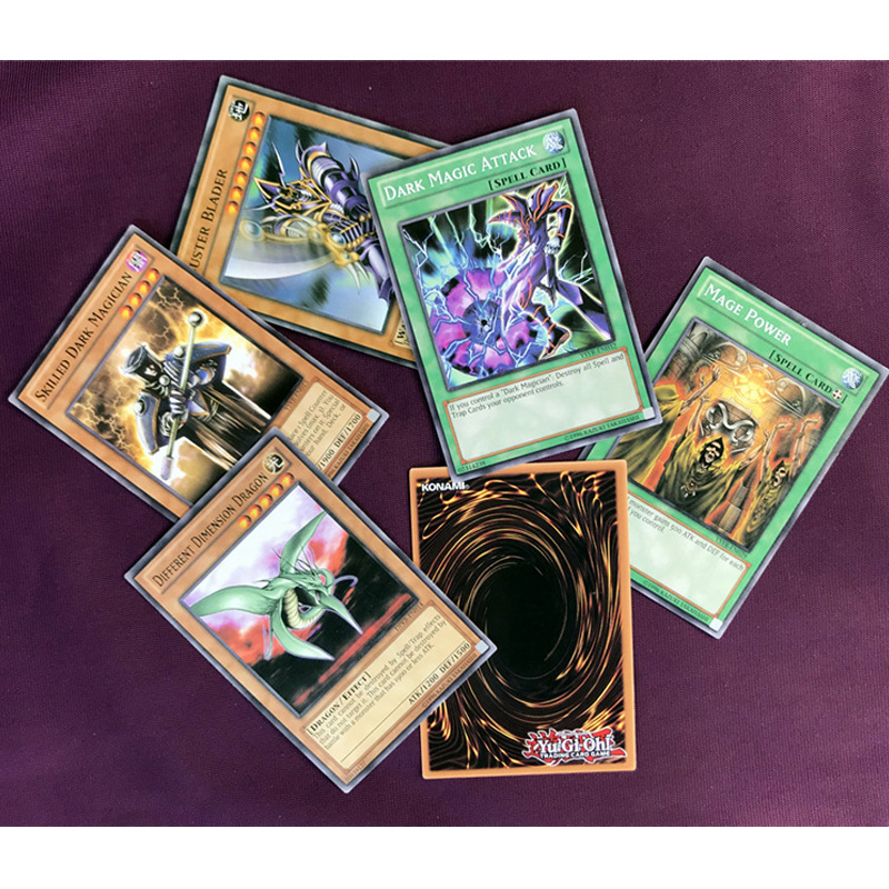 Yu Gi Oh Cards 66pcs/set Board Game Card Of Gard OCG Collections YuGiOh English Table GameDeck For Kids Christmas Gifts