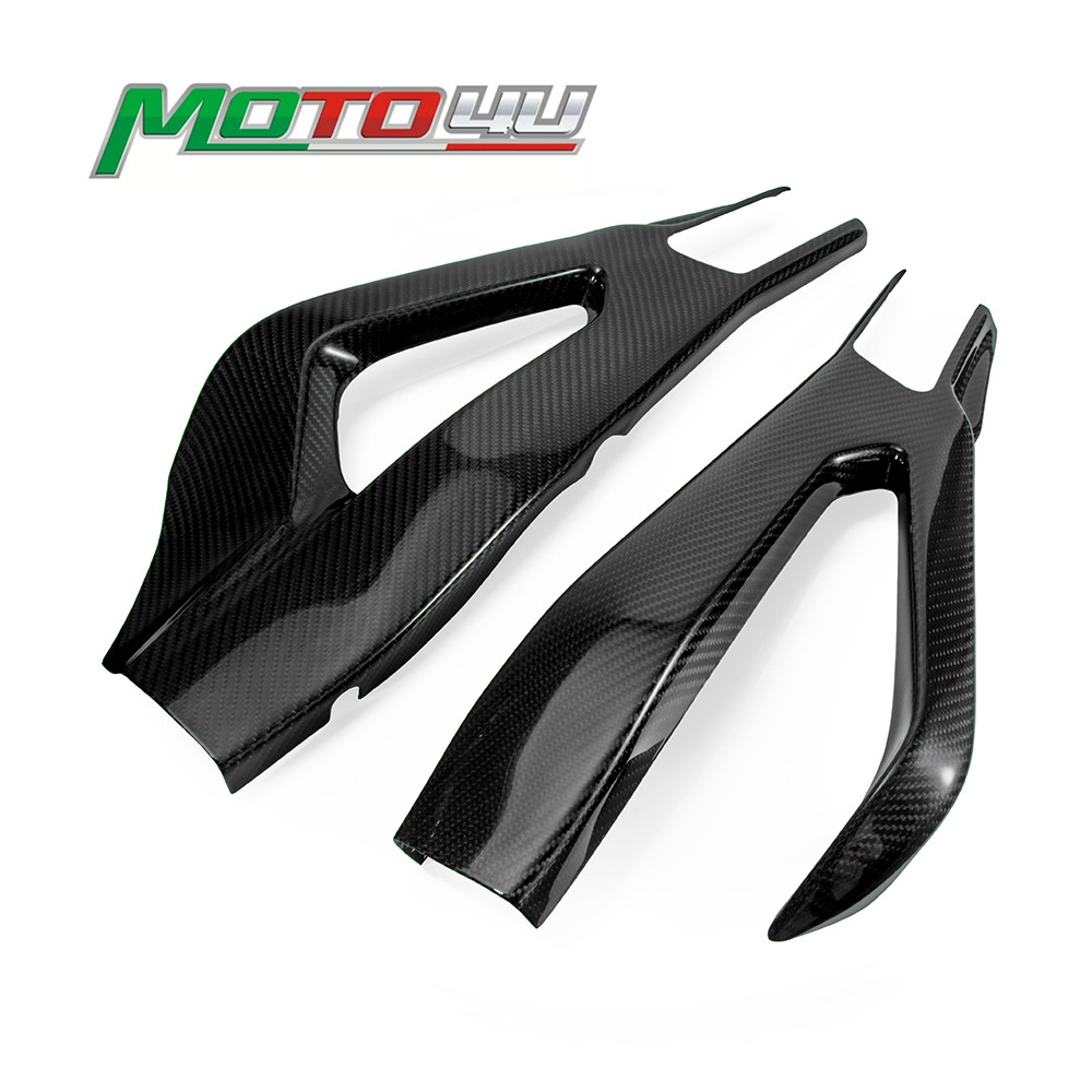 New Carbon Fiber Motorcycle Swingarm Cover Swing Arm Protector 100% Twill Weave For BMW S1000RR S 1000RR S 1000 RR 2019 2020