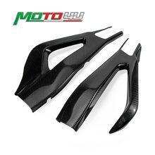 Yeni karbon Fiber motosiklet Swingarm kapak salıncak kol koruyucu 100% dimi örgü BMW S1000RR S 1000RR S 1000 RR 2019 2020