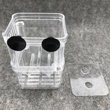 1 шт многофункциональный прозрачный маленький аквариум нерестилища