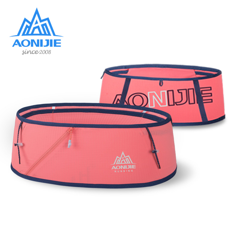 AONIJIE W8101 Hydration Running Belt Waist Pack Travel Money Bag Trail Marathon Gym Workout Fitness Mobile Phone Holder