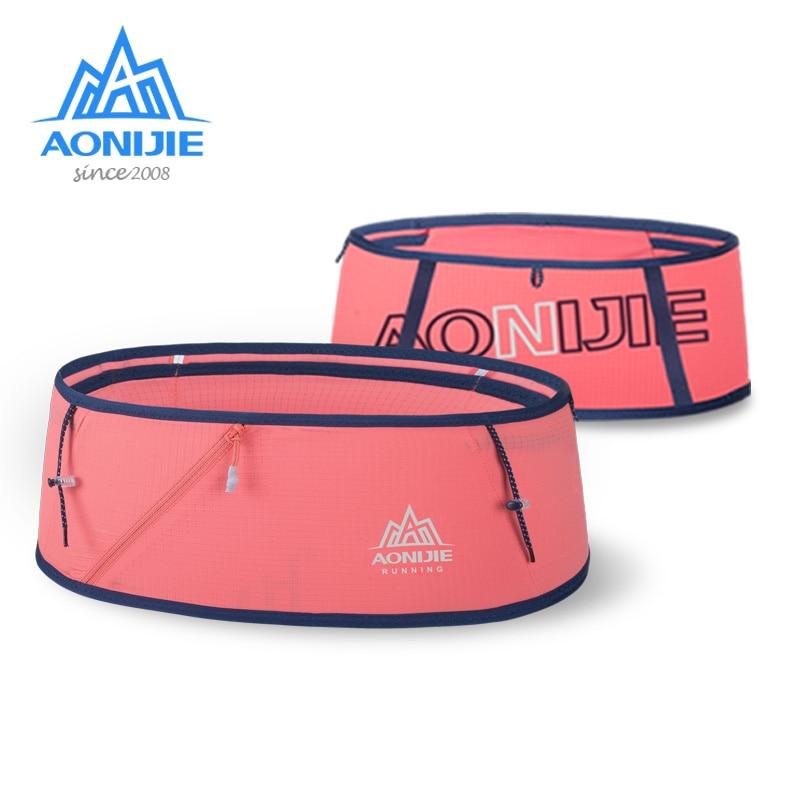 AONIJIE W8101 Hydration Running Belt Waist Pack Travel Money Bag Trail Marathon Gym Workout Fitness Mobile Phone Holder