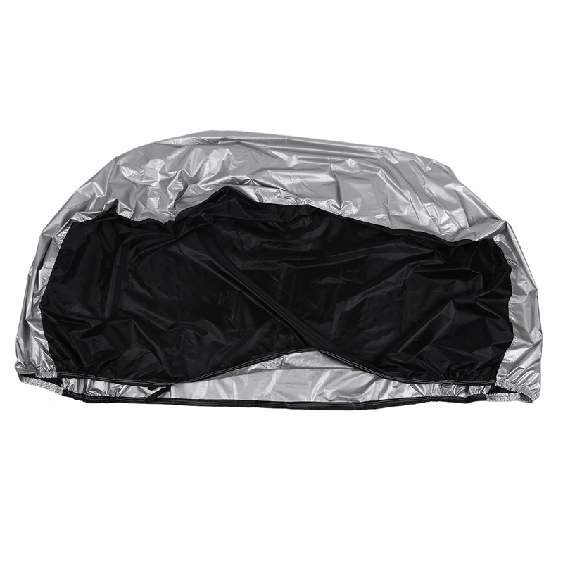 ABLB  Universal Waterproof Bicycle Bike Cover Rain Resistant Sun Protection for 2 Bike Protective Gear     - title=