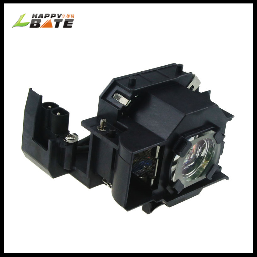 HAPPYBATE Wholesale ELPLP34 V13H010L34 Projector Lamp For EMP-82 EMP-62 EMP63 EMP-X3 EMP-76C With Housing 180 Days Warranty