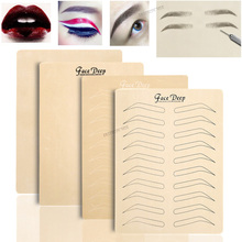 Fake-Skin Tattoo Eyebrow Permanent-Makeup Silicone Beginner 3D for No-Ink