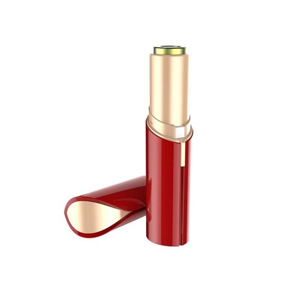 Electric Lipstick Epilator Facial Hair Remover For Women Painless Face Eyebrow Trimmer Epilator Body Shaver Hair Removal Razor