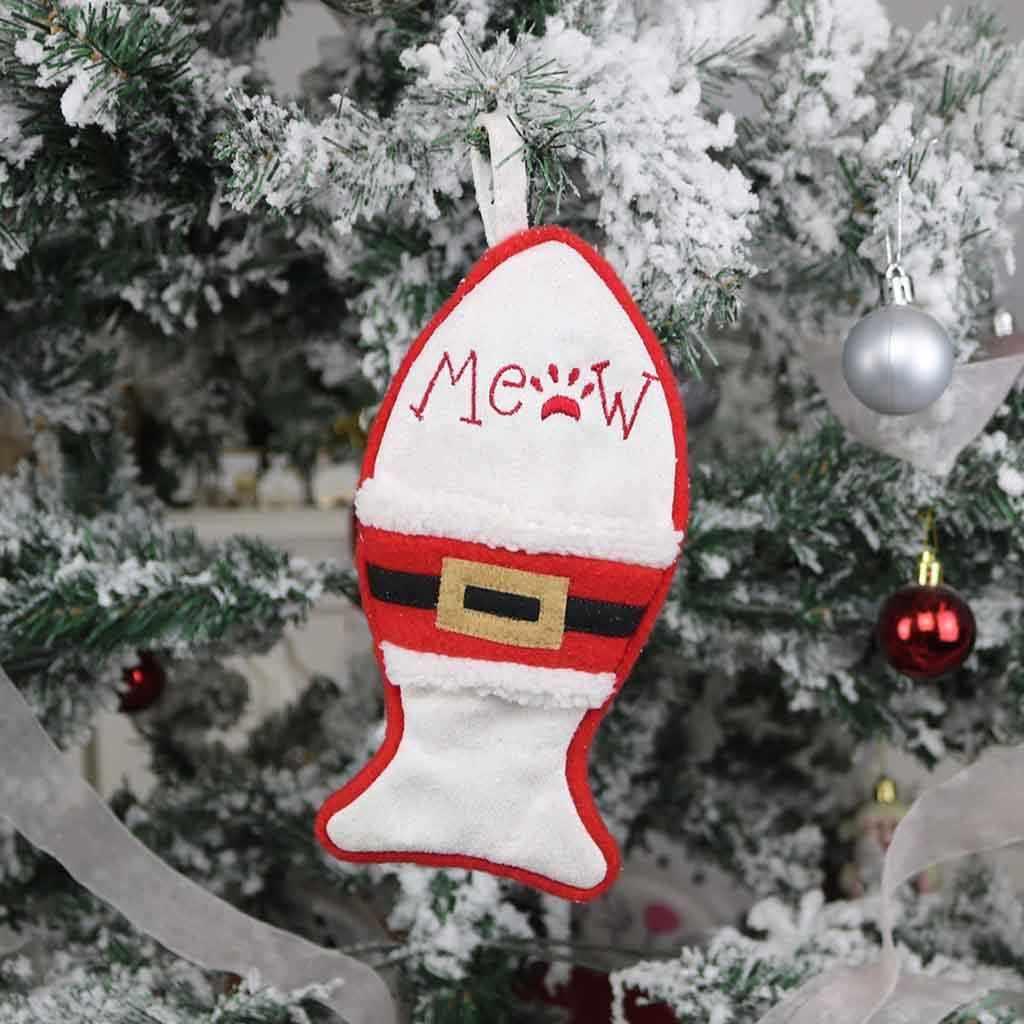 Vajilla decorativa de Navidad conjunto de tenedor y cuchillo precioso almacenaje con forma de sombrero navideño herramienta e Tenedor Set sombrero ornamentos bolsa enfeitas de natal