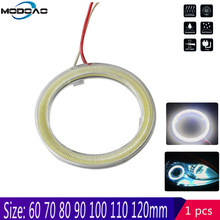 Dagrijverlichting Drl Auto Angel Eyes Led Halo Ring Koplampen 60 Mm 70 Mm 80 Mm 90 Mm 100mm 110 Mm Voor Bmw E38 E39 E46 E60(China)