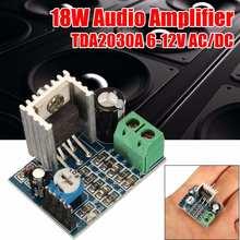 Audio Verstärker Bord 18W TDA2030A 6-12V AC DC Audio Verstärker Vorstands Klasse D Lautsprecher Verstärker audio Modul Audio Board DIY Kit cheap CN (Herkunft) Player Digital-Digital-analog-wandler (DAC) Professionelle Audio Ausrüstung Bühnentechnik Aufnahme Ausrüstung