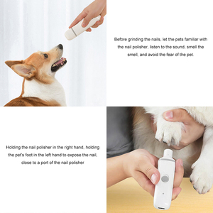 Image 4 - YouPin pawbby cortauñas eléctrico recargable con USB para mascotas, cuidado de mascotas saludable, 2020