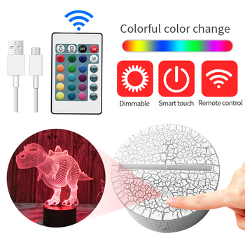 LED Touch Light Base Acrylic USB Remote Control Lighting 3D Led Night Lamp Assembled Bases Wedding Christmas Decor Led Base 3d led night light usb 3d luminous novelty lighting base table lamp home decor valentine s birthday christmas gifts