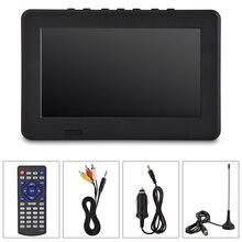 Pour LEADSTAR ISDB-T 7 pouces Rechargeable numérique couleur TV lecteur de télévision TFT-LED écran tv portable numérique portable tv