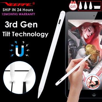 For Stylus iPad Pencil For iPad Pro 11 12.9 2020 10.2 2019 9.7 2018 Air 3 Mini 5 Tilt Sensing Smart Touch Pen For Apple Pencil