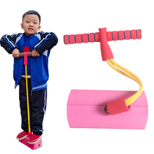 Training-Rod Jumper Pogo-Stick Jumping-Toys Sense Sports-Game Bouncing Outdoor Foam Frog