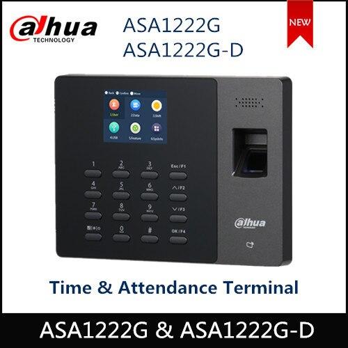 Dahua Access Control Time Attendance Terminal ASA1222G & ASA1222G-D LCD Video Intercom Doorbell Systems