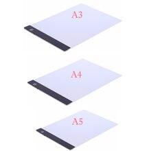 A3 a4 a5 светодиодный художественный тонкий трафарет доска для