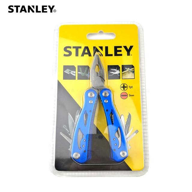 Stanley pocket clamp stripper fold wire cutter Multitool multifunction multi tool plier multipurpose outdoor survive repair mini 1