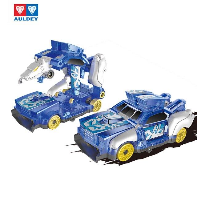AULDEY Screeches Wilden Burst Verformung Auto Action figuren DPTI Morphs Erfassen Wafer 360 Grad Transformation Auto Spielzeug