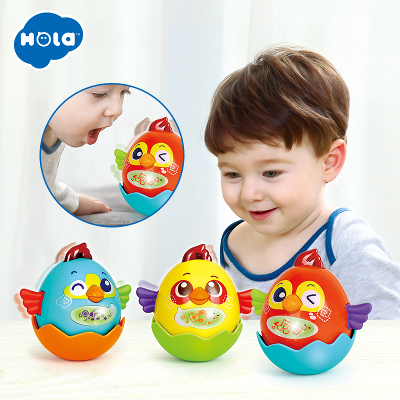 2Pcs/Lot Plastic Voice Control Music Bird Toy Interactive Singing Talking Bird Electronic Pet Baby Toys 0-12 months image