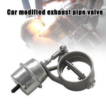 Car Modified Variable Sound Exhaust Pipe Valve Racing Car Exhaust Valve for Car Modify C66