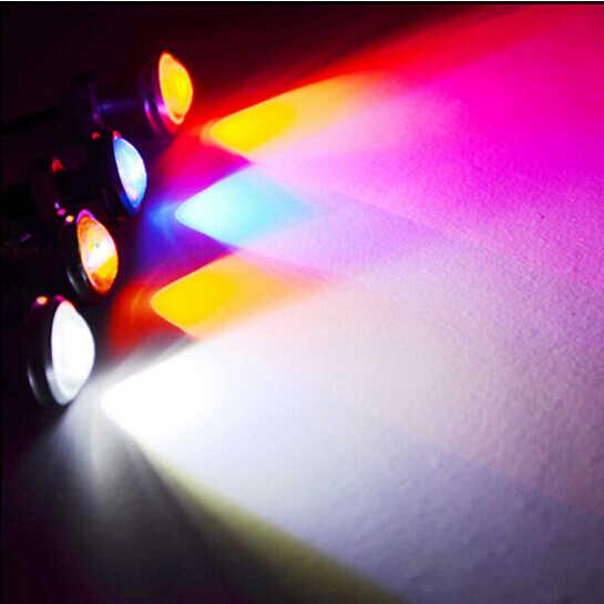 2 قطعة 18 مللي متر أضواء النهار الجري أضواء سيارة Led أضواء عين النسر DRL LED 12 فولت احتياطية عكس إشارة وقوف السيارات مصابيح DRL