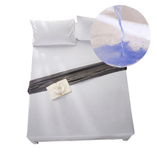Bed-Set Towel-Cloth-Sheet 150-Cover Elastic-Band Double-Waterproof-Sheets Anti-Mite Cotton
