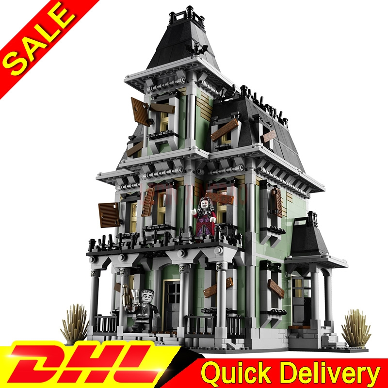 Building-Kits Model-Legaoings-Toys Fighter Monster Haunted 10228 16007 House-Model-Set title=