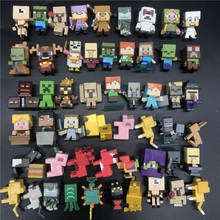 hot Sale Minecraft Building Blocks Action mini Figure *Choose Your Favourit*Steves Classic Collection game Toys For Kids