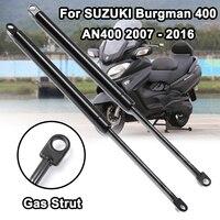 Motocicleta scooter assento ajustar para suzuki burgman 400 an400 2007-2016 ajustador choque elevador suporte barra adereços haste braço gás