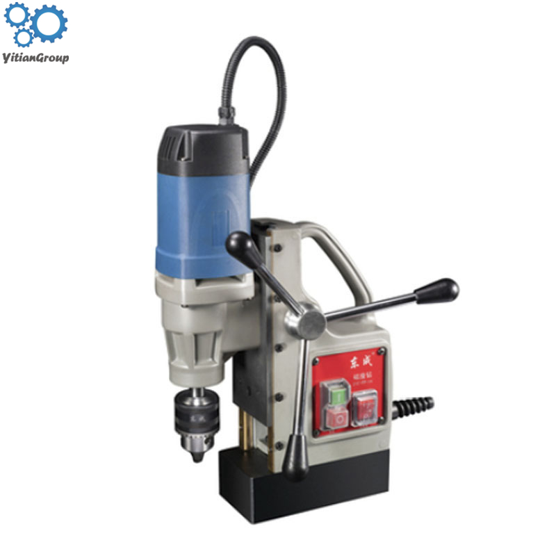 Electric Mini Magnatic Drilling Machine J1C-FF-30 Magnetic Seat Hollow Brick Drill Tool 220v 50HZ 900W 450r/min 11500N