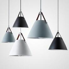 Modern Macaron Minimalist Aluminum Pendant Lights Lighting Nordic LED Pendant Lamp Living Room Restaurant Bar Cafe Deco Fixtures