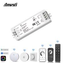 Wifi Led Dimmer 12V 24V Pwm 2.4G Touch Rf Draadloze Afstandsbediening 5V 36V Smart wifi Dimmer Controller Voor Enkele Kleur Led Strip